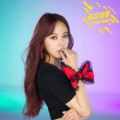 """""""High.D (하이디)"""" is a South Korean singer under TS Entertainment. She is a member of South Korean girl group Sonamoo (소나무)."""