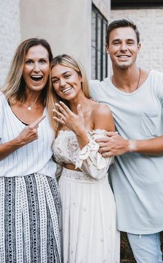 Sadie Robertson Dresses, Duck Dynasty Sadie, Robertson Family, First Wedding Anniversary, Classic Wedding Dress, Bridesmaid Dresses, Wedding Dresses, Cute Couples, Getting Married