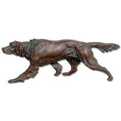 Bronzed Iron Hunting Dog