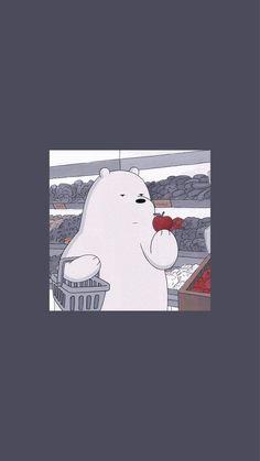 Cute Panda Wallpaper, Cartoon Wallpaper Iphone, Disney Phone Wallpaper, Bear Wallpaper, Mood Wallpaper, Iphone Background Wallpaper, Aesthetic Pastel Wallpaper, Kawaii Wallpaper, We Bare Bears Wallpapers