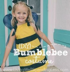 I have never attempted to sew a costume before, but my daughter Maggiereally wanted to be a bumblebee this year. When I started looking at the bee costumes that were available, I was appalled at the idea of anyone spending $25 or $35 per child when I knew I could make it for much cheaper. …