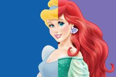 What Combination of Disney Princesses Are You? - When one Disney Princess just won't do.pick two! - Quiz I am Cinderella and Ariel! The two princess I thought for sure I wouldn't get. First Disney Princess, Disney Girls, Disney Love, Disney Magic, Disney Quiz, Disney Pixar, Walt Disney, Disney Characters, Disney Princesses