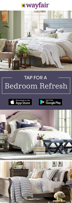 Download our app for access to exclusive sales on bedroom essentials, all at up to 70% OFF!
