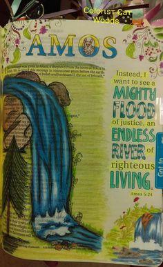 New Bible, Bible Art, Bible Quotes, Bible Verses, Amos Bible, Psalm 66, Bible Doodling, Lamentations, Illustrated Faith