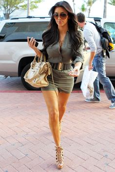 Kim's outfit.....
