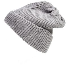 Women's UGG Australia Ribbed Knit Beanie (530 MXN) ❤ liked on Polyvore featuring accessories, hats, beanies, hair, slouchy beanie cap, slouchy beanie hats, slouchy hat, beanie cap hat and slouchy cap
