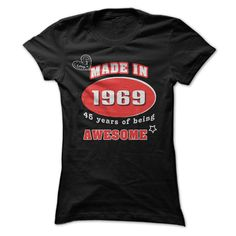 AWESOME WOMEN 1969 T-Shirts, Hoodies. Get It Now ==> https://www.sunfrog.com/Birth-Years/AWESOME-WOMEN-1969-iyrb.html?id=41382