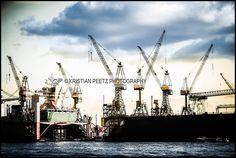 Hamburg: Port by Latin-Point, via Flickr