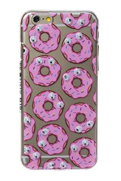 Skinny Dip iphone 6 case Diy Phone Case, Cute Phone Cases, Iphone 5c, Iphone Cases, Skinnydip London, Phone Accessories, Fashion Accessories, Funny Faces, Donuts