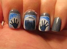 Sonoma Nail Art: Poltergeist Nails #Halloween