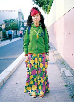 eBook-FRUiTS magazine No.012 Tokyo Street Fashion, Tokyo Street Style, Japanese Street Fashion, Asian Fashion, Grunge Style, Soft Grunge, Le Happy, Dr. Martens, Grunge Outfits