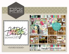 Talk about a jam packed it! NBK Designs has created an amazing an HUGE collection for The Digi Files this month. Laugh Often is full of textured papers, fun events, TWO alphas, and some gorgeous photo masks. I can't wait to see what everyone creates with this kit! Let's take a closer look at all the lovely goodies!