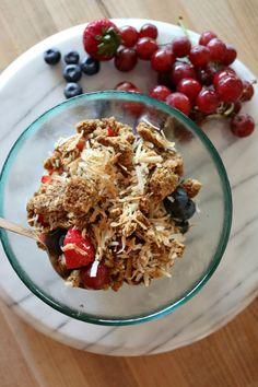 Yogurt Fruit Breakfa