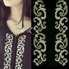 like the embroidery Embroidery Stitches, Embroidery Designs, Tiffany Art, Palestinian Embroidery, Ethnic Bag, Abaya Fashion, Bargello, Sweet Dress, Le Point