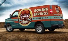 HVAC truck wrap for this mechanical contractor in Boiling Springs, SC. - NJ Advertising Agency, NJ Ad Agency, NJ Web Design, NJ Logo Design, HVAC Truck Wrap Design, HVAC Vehicle Wrap Design | Graphic D-Signs, Inc. #truckwraps #truckwrap #vehiclewrap #vehiclewraps #advertising #design #graphicdesign #besttruckwraps #bestvehiclewraps