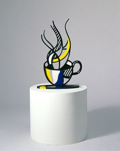 Cup and Saucer I, Roy Lichtenstein, 1976