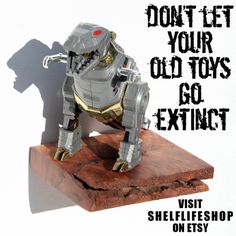 Like if you have old toys.  PIN IT if they're hidden away in a box! https://www.etsy.com/shop/ShelfLifeShop