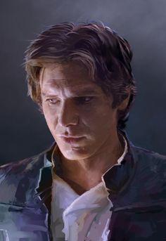 Han Solo, David Seguin on ArtStation at http://www.artstation.com/artwork/han-solo