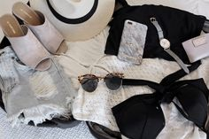 What to Pack For a Weekend Getaway   For full details visit: http://www.andshedressed.com