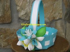 Kids Crafts, Foam Crafts, Easter Crafts, Diy And Crafts, Flower Crafts, Diy Flowers, Wedding Gift Baskets, Diy Y Manualidades, Candy Art