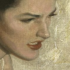 Andrew Loomis, Portrait of a Brunette (detail)