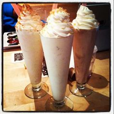 Create your own #Milkshake at STACKED!