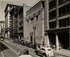 Los Angeles stock exchange building 1936