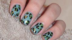 Leopard Nail Designs nail-art
