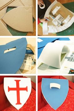 DIY shield cardboard