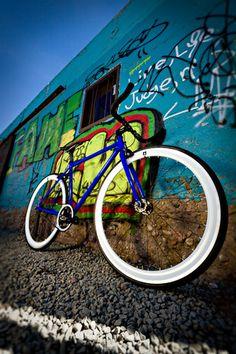 Big Shot Bikes 2012 Special Editon Color: Electric Blue