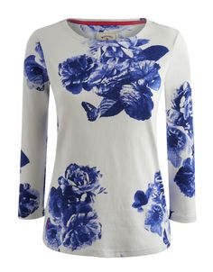 New Arrival Joules Harbour Print Jersey Top