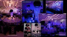 Damask Wedding Theme - Designs Created By Elliott Events - Elliott Events