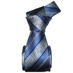 @Overstock.com - Dmitry Men's Italian Light Blue Striped Silk Tie - Made in Italy, this luxurious silk neck tie is the perfect addition to any wardrobe. Appropriate to wear on any occasion, the light blue tie features a classic design that looks just as good with a suit as it does with your best blue jeans.  http://www.overstock.com/Clothing-Shoes/Dmitry-Mens-Italian-Light-Blue-Striped-Silk-Tie/7571430/product.html?CID=214117 $61.99