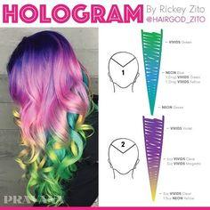 Pravana Hologram Hair