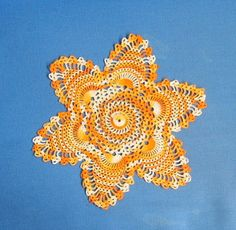 One ball size 30 crochet cotton.