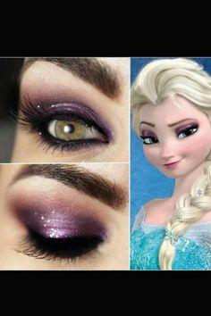 Ihr könnt das Totenkopf Make-up auch nur auf eine Hälfte des Gesichts schminken.