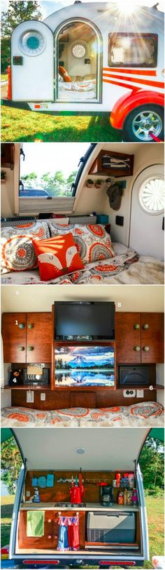 Brilliant Ideas For Organizing The Travel Trailer