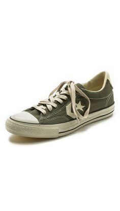 DOPEST most comfortable pair of CONS that I've ever bought. Converse x John Varvatos JV Star Player Low Top Sneakers