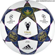 quality design 71cd1 ed198 Adidas Finale Wembley 2013 Champions League Final Match ball Psg,  Équipement De Soccer, Ballon
