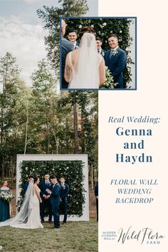 Take a peek inside Genna   Haydn's outdoor garden-themed barn wedding and see how Wild Flora Farm was able to create a stunning floral wall backdrop using greenery, golden peach   soft mustard color palette. Then read the interview with the bride and groom for more wedding day tips and advice. Get ready to be inspired!