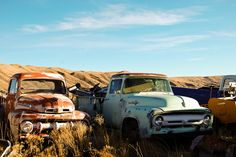 Old Ford Trucks
