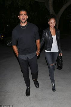 Happy couple:Also there to watch Drake and Future do their thing was newly…