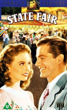 Our state fair is the best state fair, don't miss it, don't even be late! One of the first of the amazing musicals of the 50s and 60s. One of the best thing about these movies is that there is always some chick flick action going on :) hehe