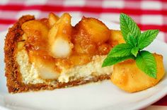 Cinnamon Apple Sour Cream Custard Flan - I'm a sucker for apple desserts and this is one of the most delicious I've ever tried. Easy to make too!