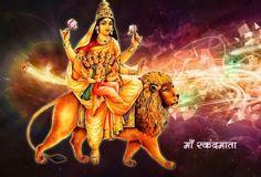 Navratri 5th Day SkandMata Poojan Photos HD Images Pics Wallpapers Worship Mantra