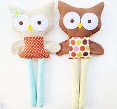 cute stuffed owl tutorial
