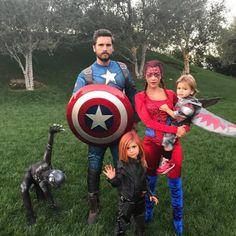 Los increíbles disfraces de Halloween de los hijos de los famosos | Quién