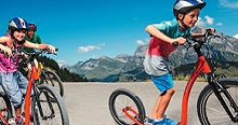 Trottiland Adele, Adelboden, Bicycle, Motorcycle, Switzerland, Bike, Bicycle Kick, Bicycles, Motorcycles