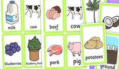 Literacy:Practice oral language.Use picture cards to encourage children use their words to describe things. Learning new words, matching the picture with description.