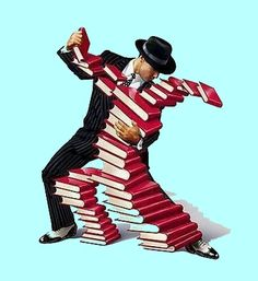 DANCING WITH BOOKS
